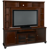 "Casual Traditions 76"" Console with Hutch"