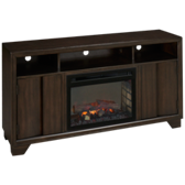 Bayne Fireplace Media Console