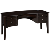 "E2 66"" Double Pedestal Desk"