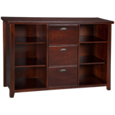 Tribeca Loft File/3 Drawer Bookcase