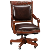 Napa Leather Office Chair