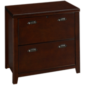 Tribeca Cherry Lateral File Cabinet