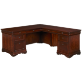 L Desk with Return