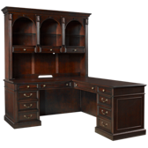 Wellington Desk with Return and Hutch