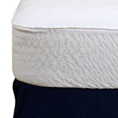 Beautyrest Vinyl Waterproof Mattress Pad