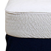 Beautyrest Vinyl Basic Waterproof Mattress Pad
