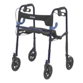 "Drive Clever-Lite Walker with 8"" Casters"