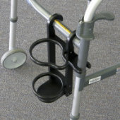 """A"" Size Oxygen Tank Holder for Invacare 6291 Series Walker"