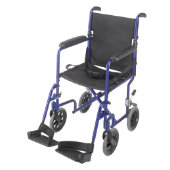 Mabis Ultra Lightweight Aluminum Transport Chair