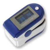 CMS-50D Fingertip Pulse Oximeter - Blue