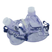 Portable Ultrasonic Nebulizer Adult & Pediatric Mask Set