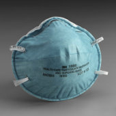 3M 1860 N95 Particulate Respirator and Surgical Mask