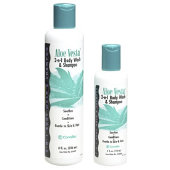 Aloe Vesta Body Wash & Shampoo 8 oz.
