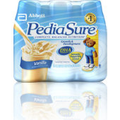 Pediasure Vanilla 8oz. Retail Bottles