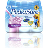 Pediasure Berry Cream 8oz. Retail Bottles