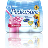 Pediasure Strawberry 8oz. Retail Bottles