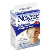 Nexcare Opticlude Orthoptic Eye Patches, Regular Size (Box of 20)
