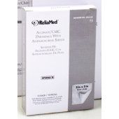 ReliaMed® Alginate/CMC Dressings with Antimicrobial Silver