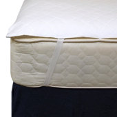 Dry Defender Waterproof Mattress Protector with Anchor Bands - Queen Size