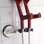 Duo Cane Holder with Suction Pad