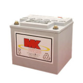MK Battery M40 Gel Sealed Batteries (1 Pair)