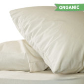 Organic Breathable Pillow Protector - Waterproof
