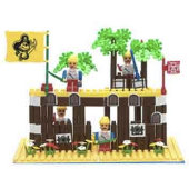 Pirate Island Building Block Set
