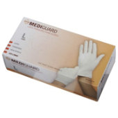 MediGuard Non-Sterile Powdered Latex Exam Gloves