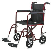 Medline 19 lb Aluminum Transport Wheelchair