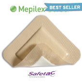 Mepilex® Border Self-Adherent Soft Silicone Foam Dressing