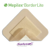 Mepilex® Border Lite Self-Adherent Soft Silicone Thin Foam Dressing