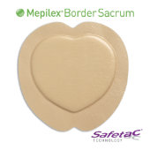 Mepilex® Border Sacrum Self-Adherent Soft Silicone Foam Dressing
