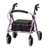 "Nova Ortho-Med Zoom Rollator (18"", Pink)"