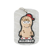 AllerMates Allergy Alert Dog Tag