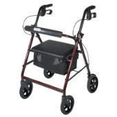 Drive Back Support Rollator