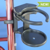Adjustable Swing-Away Cup Holder