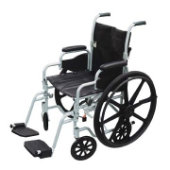 Drive Poly-Fly Transport Chair/Wheelchair