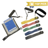CanDo® Adjustable Exercise Band Kit
