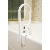 Carex White Bathtub Safety Rail