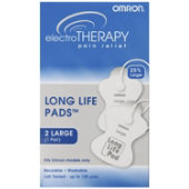 Omron Electrotherapy Large Long Life Pads (White)