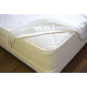 NaturePedic Organic Breathable Waterproof Mattress Protector - Fitted - Twin