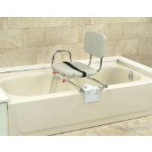 Snap-N-Save Sliding Tub-Mounted Transfer Bench
