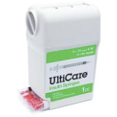 UltiGuard® Syringes - 31 Gauge - Box of 100