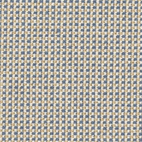 Carpet GinghamStitch 4121229917 SandstoneBlue