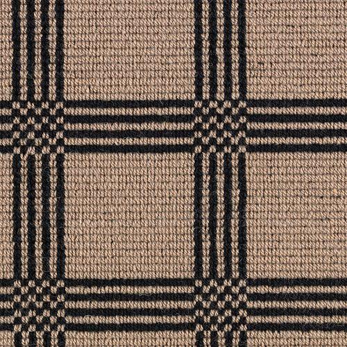 Mohawk Industries Woolston Plaid Refined Khaki Carpet