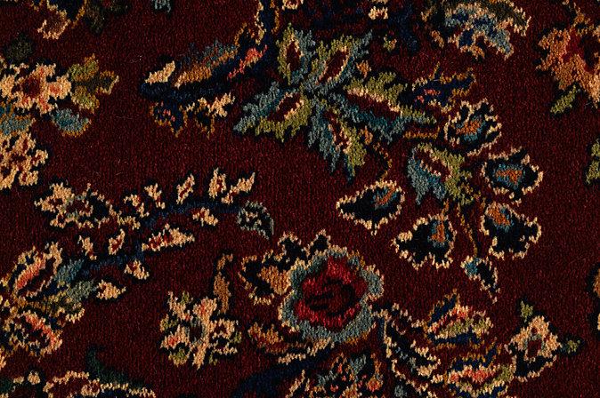 Karastan Wall To Carpet With Wainscoting Design