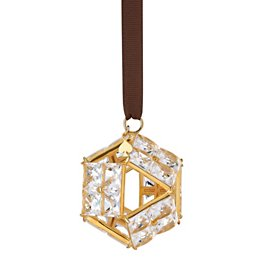 bejeweled prism  clear ornament