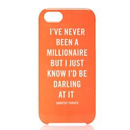 millionaire quote iphone 5 case