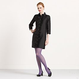 ruffled bethanne dress