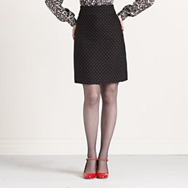 dotted delphina skirt